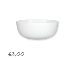 House by John Lewis Lily Stoneware Cereal Bowl £3.00