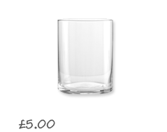 John Lewis Value Tumblers, Box of 4 £5.00