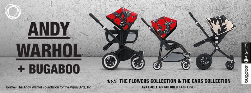 Andy Warhol + Bugaboo, flowers collection