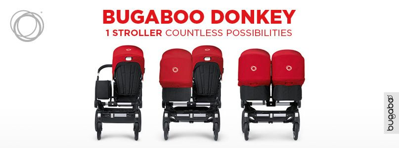 Bugaboo Donkey, 1 Stroller countless possibilities