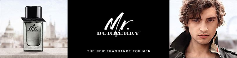 Mr Burberry. The new fragrance for men