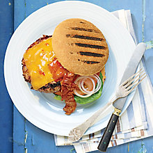 Buy Burger with Cheese and Bacon Online at johnlewis.com