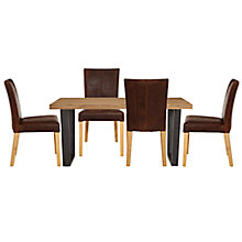 Buy John Lewis Calia 6 Seater Dining Table + 4 John Lewis Calia Dining Chairs Online at johnlewis.com