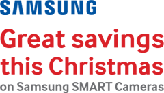 SAMSUNG Great savings this Christmas on Samsung SMART Cameras
