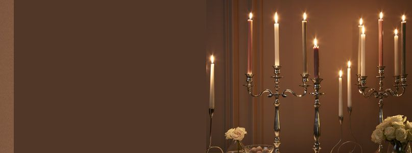 Candelabras and dinner candles