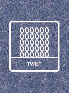 Twist carpets