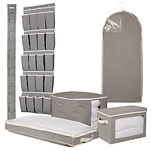 Buy Chambray Soft Storage Range Online at johnlewis.com