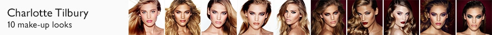 Charlotte Tilbury - 10 make-up looks