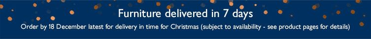 Order by 18 December latest for delivery in time for Christmas