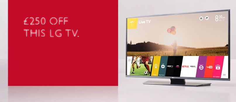 £250 off this LG TV