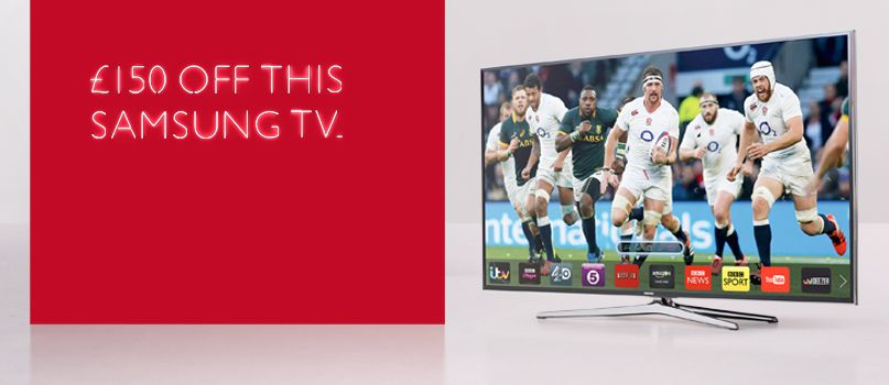 £150 off this Samsung TV