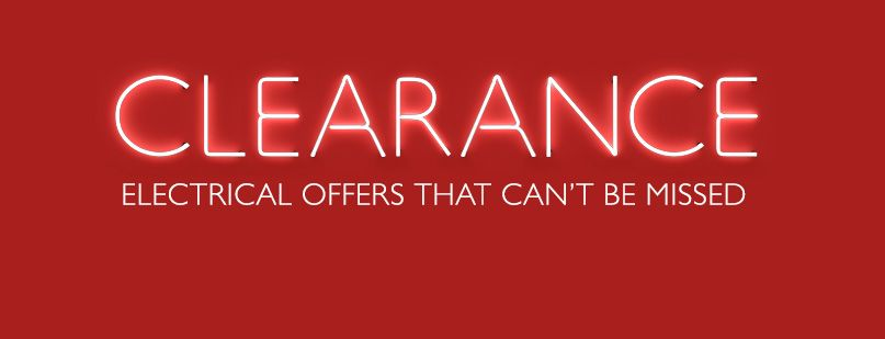 clearance - more of what you love for less