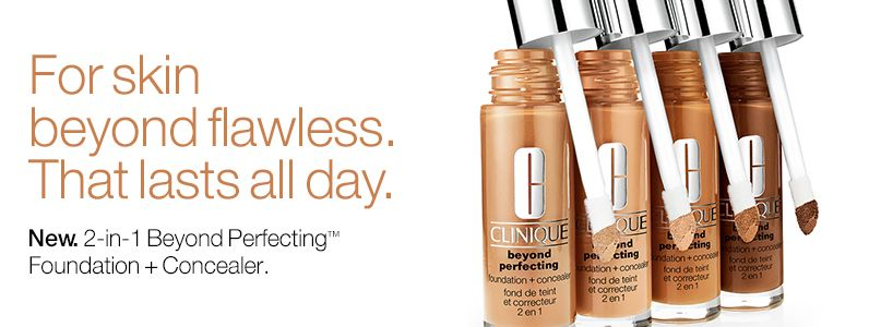 For skin beyond flawless that lasts all day