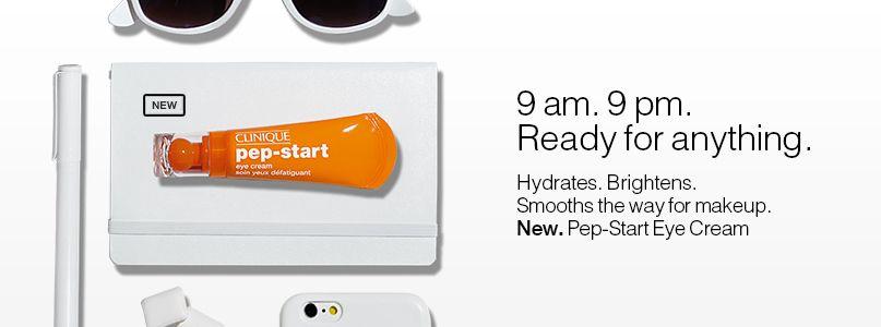 New. Clinique Pep-Start Eye Cream