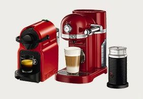 Buy a Nespresso machine and get £25 off your first coffee order