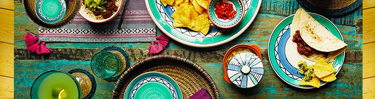 Mexicana tableware