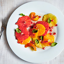 Buy Breakfast citrus salad with orange and vanilla syrup by Aya Nishimura Online at johnlewis.com
