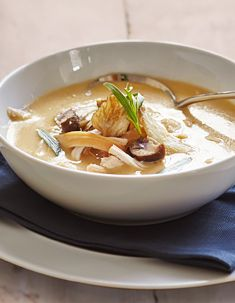 Turkey, Chesnut & Mushroom broth