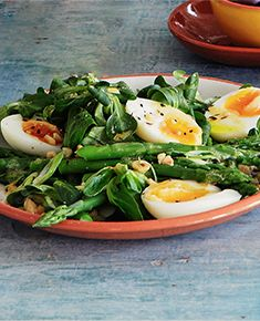 Warm Salad of Asparagus & Soft-Boiled Egg