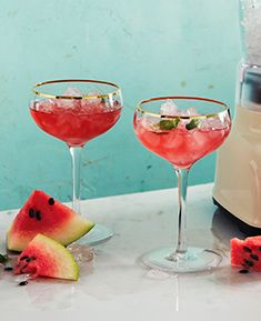 Watermelon & Rose Daiquiri