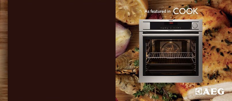 Mouth-watering results with the AEG combi-steam oven