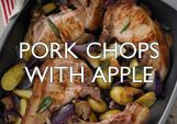 Pork Chops with Apple