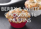 Berry & White Chocolate Muffins