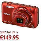 Nikon Coolpix S6600 Digital Camera