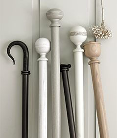 Curtain pole ranges