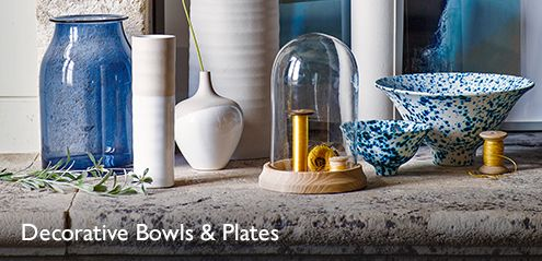 Decorative Bowls & Plates