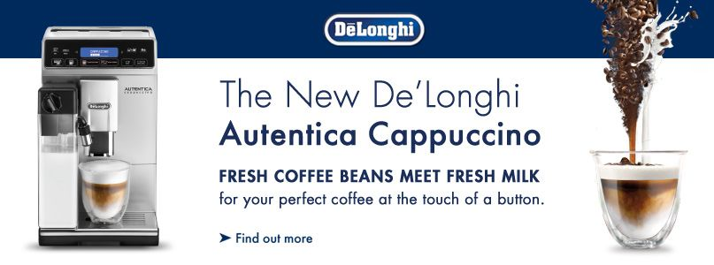 The New De%27Longhi Autentica Cappuccino