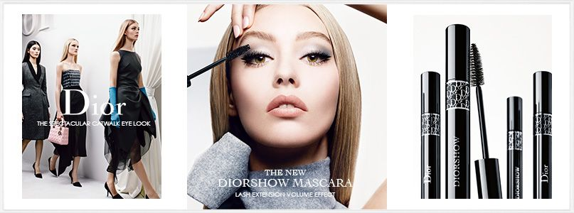 The new Diorshow Mascara