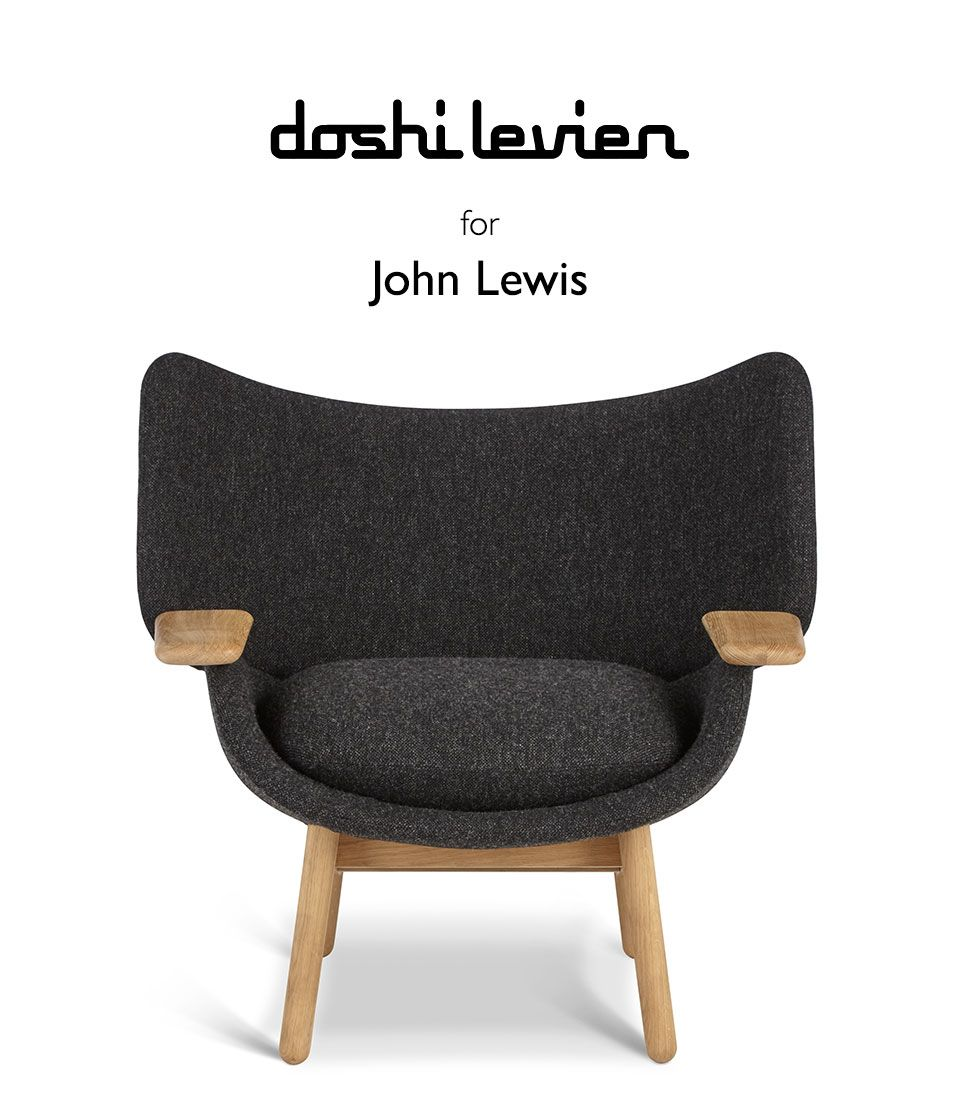 Introducing - Doshi Levien for John Lewis; The Mundra Chair on a white background