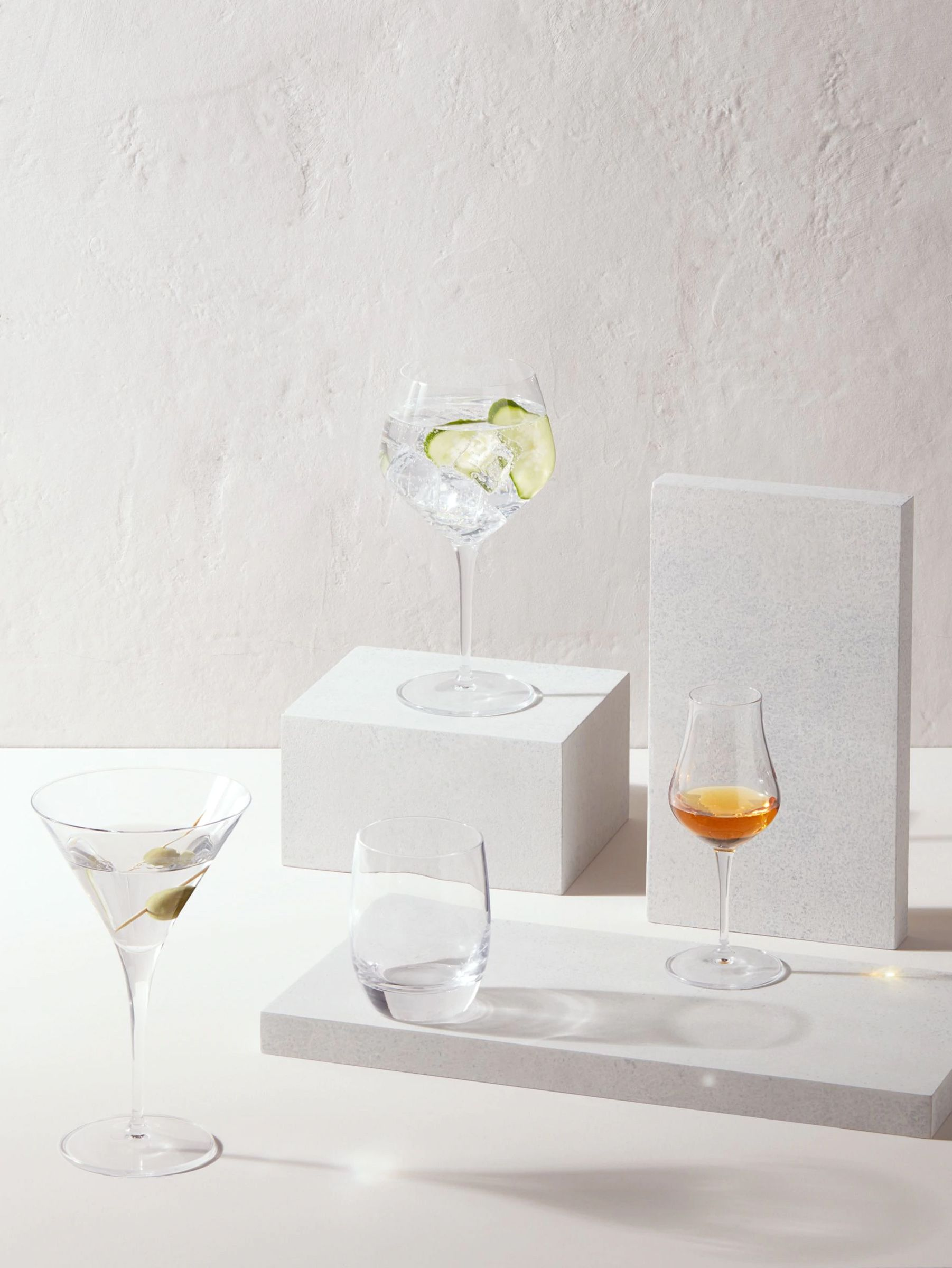 John Lewis & Partners Connoisseur Spirit & Cocktail Glassware