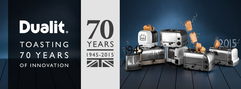 Dualit Toasting 70 years of innovation