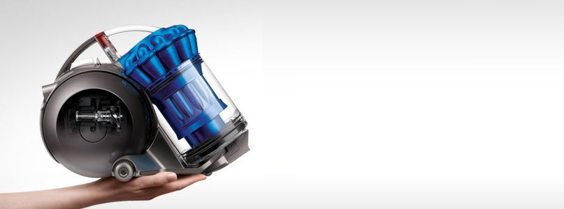 Dyson%27s smallest, quietest vacum cleaner, powered by the dyson digital motor V4