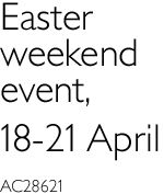 easter weekend event