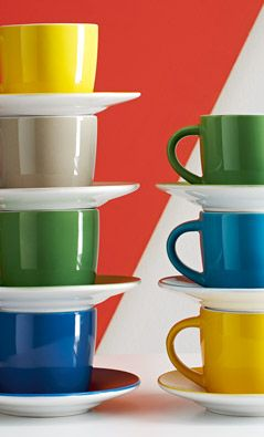 House by John Lewis Espresso Cup and Saucer