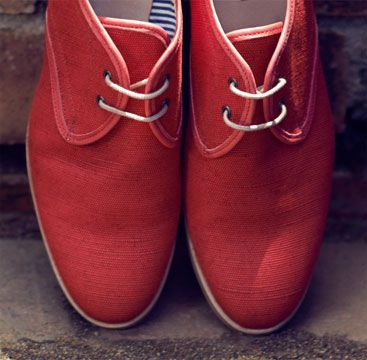 Somerset by Alice Temperley Woven Casual Shoes, Red, £100.00