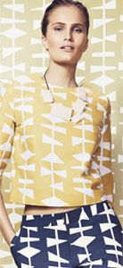 Lucienne Day 1954 Cocoon Top, £55.00