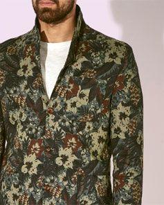 Menswear trend - Botanicals