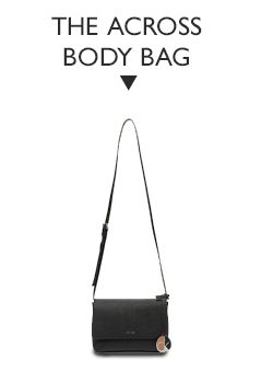 Calvin Klein Sofie Small Leather Across Body Bag