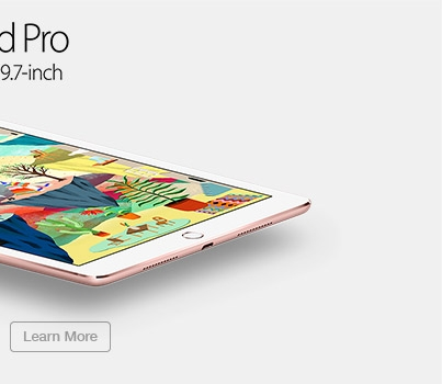 Apple iPad Pro Available 31 March in 9.7-inch. Learn More