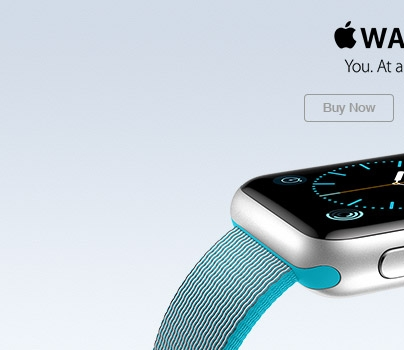 Apple Watch. You. At a glance. Buy Now