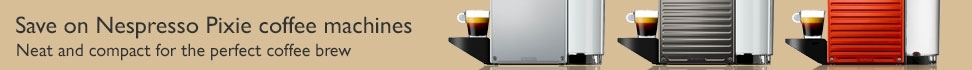 Nespresso Pixie offer