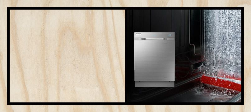 Samsung DW60H9970FS WaterWall™ Dishwasher, Stainless Steel
