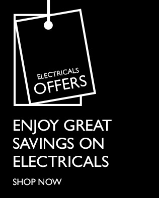 Electricals offers - Enjoy great savings on electricals