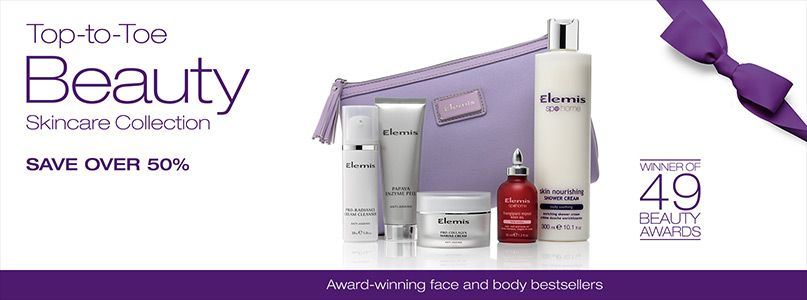 Elemis -top to toe beauty collection