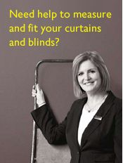 Need help to measure and fit your curtains and blinds?