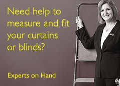 Need help to measure and fit your curtains or blinds?